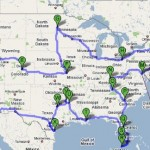The Proposed Month-long Route